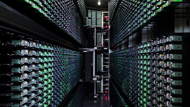 Back Up Data - Google Data Centers