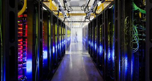 Campus Network Room - Google Data Centers