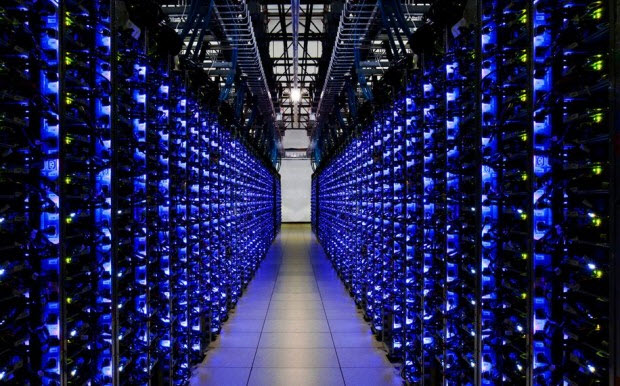 Ruangan LED - Google Data Centers